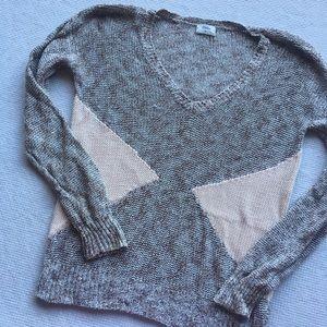 Wallace Madewell Geometric Print V-Neck Sweater
